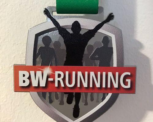 Dürfen wir vorstellen: Die BW-Running Medaille