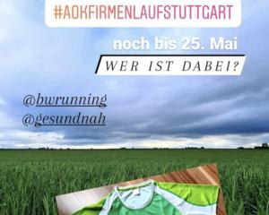 14. AOK Firmenlauf Stuttgart